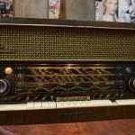 วิทยุหลอดgrundig 4090 ปี1956 รหัส9857tr2