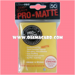 Ultra•Pro Pro-Matte Standard Deck Protector / Sleeve - Yellow 50ct.