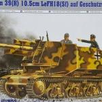 1/35 German 39(H) 10.5CM LeFH18(sf) auf Geschutzwagen [Trumpeter]