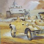 1/72 Kubelwagen B.M.W. Side Car Hasegawa]