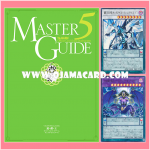 Yu-Gi-Oh! Official Card Game : Duel Monsters Master Guide 5 [MG05-JP] + MG05-JP001 : Odd-Eyes Wing Dragon (Ultra Rare) + MG05-JP002 : D/D/D Superdoom King Purplish Armageddon (Ultra Rare)