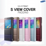 Genuine : Samsung S View Flip Case Cover For Galaxy Note 4