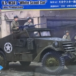 "1/35 U.S.M3A1 ""White Scout Car"" Late Production [Hobby Boss]"