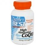 โคเอนไซม์คิวเท็นเข้มข้น, Doctor's Best, High Absorption CoQ10, 100 mg