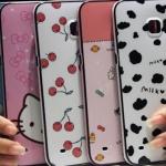 (440-046)เคสมือถือซัมซุง Case Samsung S6 Edge Plus เคสนิ่มขอบสีพื้นหลังลายสวยๆน่ารักๆ