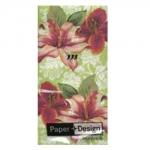 กระดาษแนปกิ้น กระดาษเดคูพาจ 20x20 Sweet Flower 01322