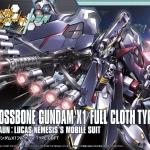 Crossbone Gundam X1 Full Cloth TYPE.GBFT (HGBF)