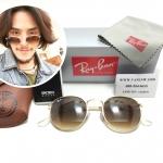 แว่นกันแดด RB 3447 Round Metal 001/51 50-21 3N <ชาเฟด>