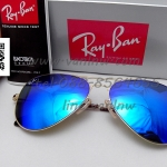 Ray Ban Aviator Flat Metal RB3513 น้ำเงิน