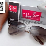 Ray Ban Aviator Flat Metal RB3513 147/13 58-15 2n
