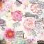 Colorful flower กระดาษแนปกิ้น เดคูพาจ 74533 thumbnail 1