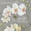 74467 ดอกไม้ขาวพื้นเทา กระดาษแนปกิ้น เดคูพาจ thumbnail 1