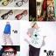 แว่นตาแฟชั่น เกาหลี EWK006 กรอบดำ ขาสีฟ้า thumbnail 2