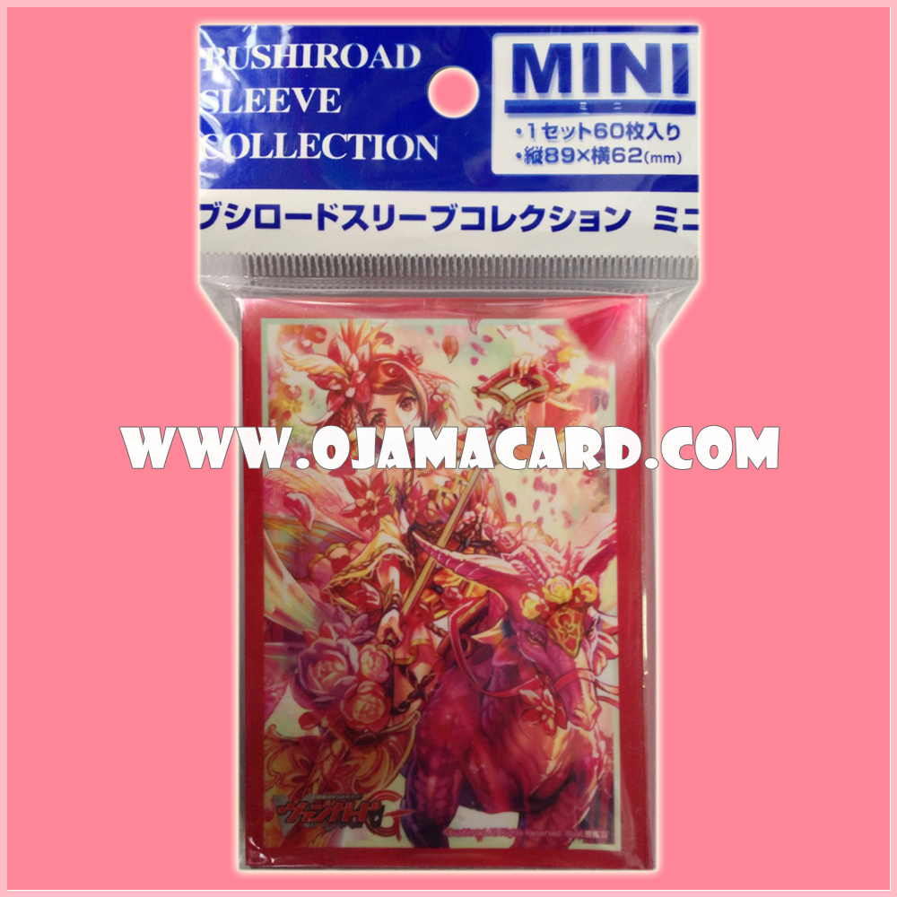 Bushiroad Collection Mini Deck Protector / Sleeve - Vol.141 : Flower Princess of Vernal Equinox, Primavera x60