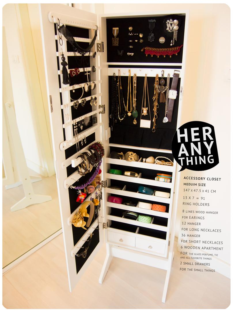 Incroyable Accessory Closet   Medium