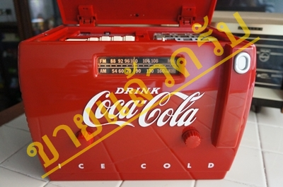 วิทยุ+เทป coca-cola cooler radio  ort 1949