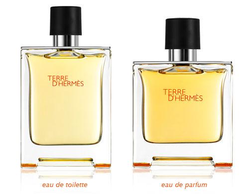 ความแตกต่างระหว่าง eau de parfum กับ eau de toilette
