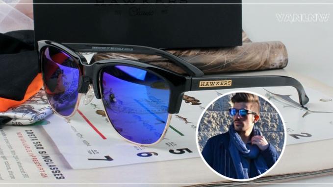 แว่นกันแดด HAWKERS DIAMOND BLACK SKY CLASSIC <ปรอทน้ำเงิน>