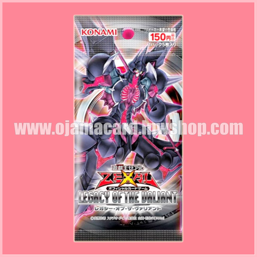807 - Legacy of the Valiant [LVAL-JP] - Booster Pack