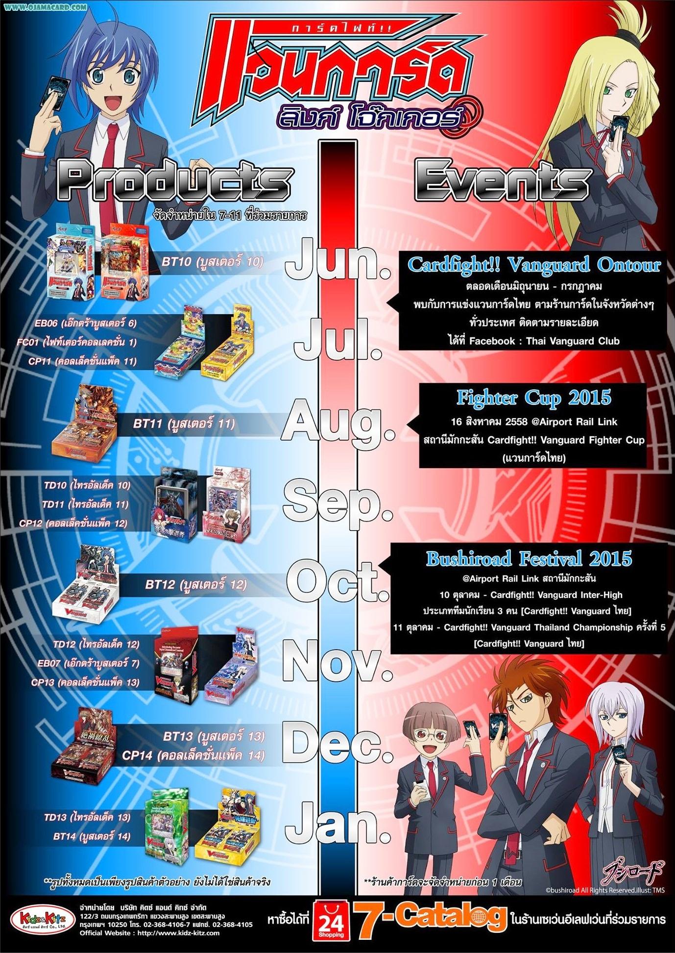 Cardfight!! Vanguard Timeline