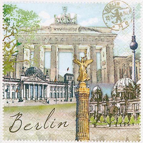 กระดาษแนปกิ้น เดคูพาจ Berlin 211371