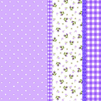 แนพกิ้น 33x33 Dot Purple 13306050