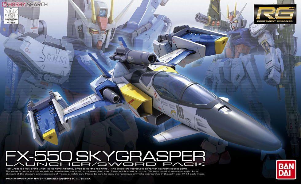 FX550 Sky Grasper Launcher/Sword Pack (RG)
