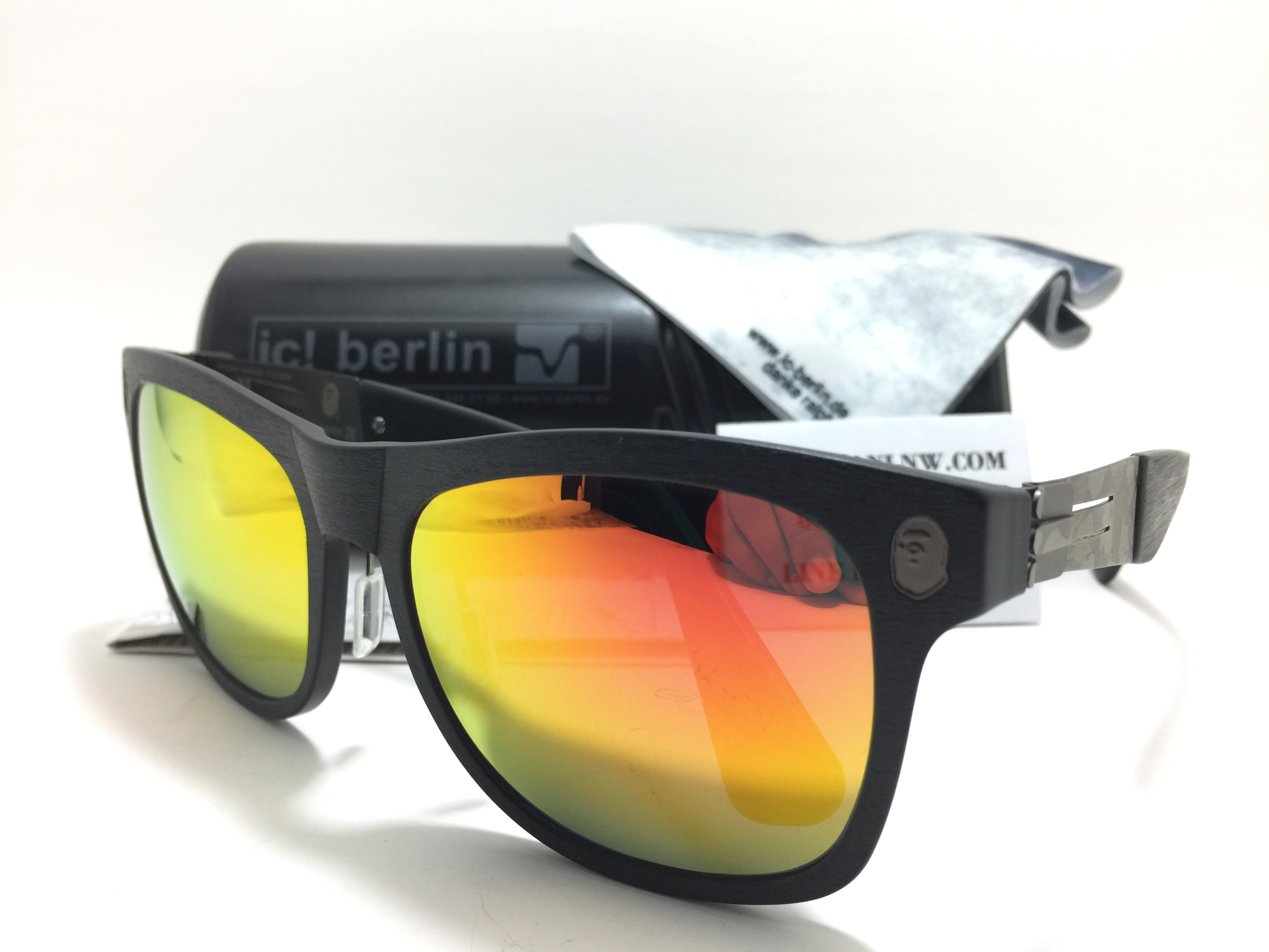 ic berlin model iba 001 gun metal <Limited Edition> ปรอทส้ม