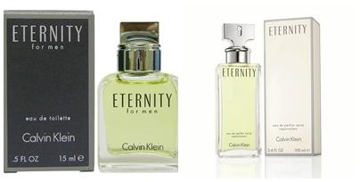 น้ำหอมเซ็ตคู่ CK Eternity for Men and Women 100 ml