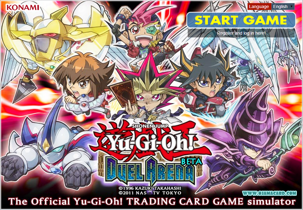 Yu-Gi-Oh! Duel Arena BETA - The Official Yu-Gi-Oh! Trading Card Game simulator
