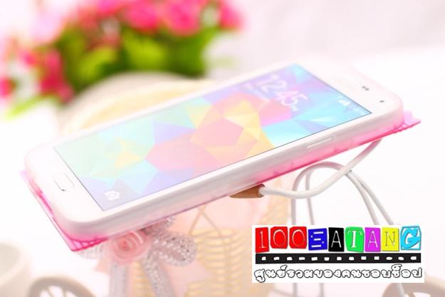 เคสมือถือซัมซุงกาแล็คซี่เอส 5 Samsung Galaxy เคสนิ่มคิตตี้มินนี่ซองขนม