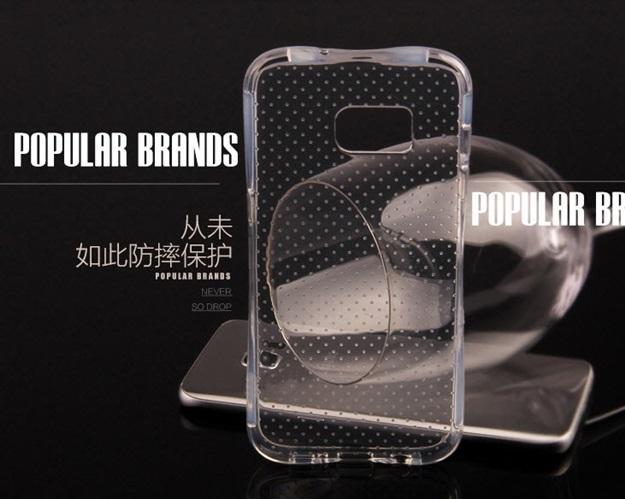 (พร้อมส่ง)เคสมือถือซัมซุง Case Samsung Galaxy S7 Edge เคสนิ่มใสบาง Slim Drop