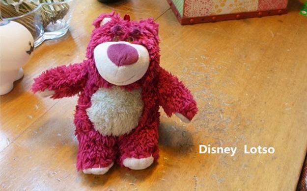 (151-289)เคสมือถือ HTC One A9 เคสพลาสติกใสดิสนีย์หมีตุ๊กตาสตรอเบอร์รี่