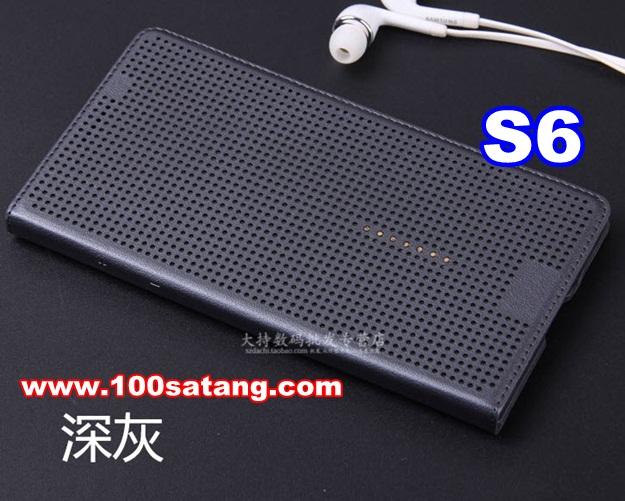 (พร้อมส่ง)เคสมือถือซัมซุง Case Samsung S6 เคสฝาเปิดข้าง intelligent visual
