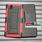 เคสมือถือโซนี่ Case Sony Xperia T2 Ultra เคสเหน็บเอวรุ่นกันกระแทก แบบที่1