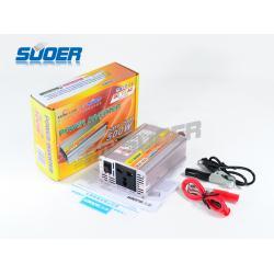 """อินเวอร์เตอร์ Modifine Sine Wave 500W 12V to 220V """"SUOER"""""""