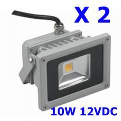 ไฟ LED Flood White 10W 12V(สีขาว 900LM) 2 หลอด
