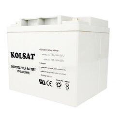 แบตเตอรี่แห้ง Deep Cycle Kolsat VRLA 45Ah 12V