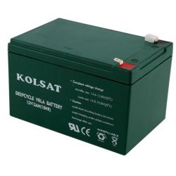แบตเตอรี่แห้ง Deep Cycle Kolsat VRLA 12Ah 12V