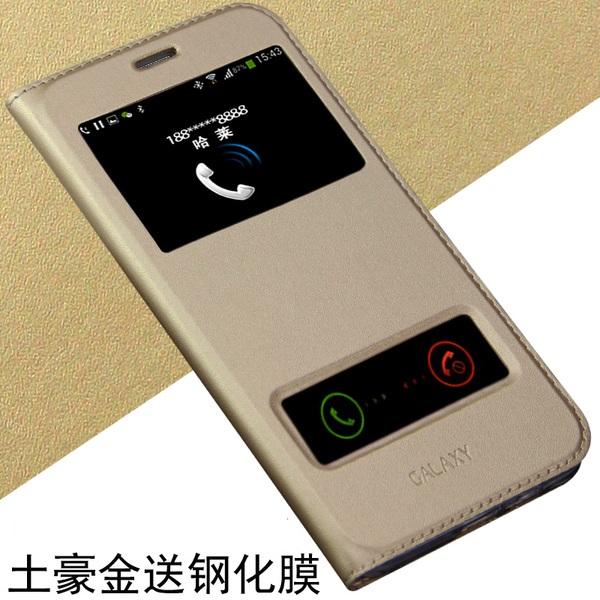 (พร้อมส่ง)เคสมือถือซัมซุง Case Samsung J7 เคสนิ่มฝาพับ PU โชว์สองหน้าจอผิวลื่นกันน้ำ