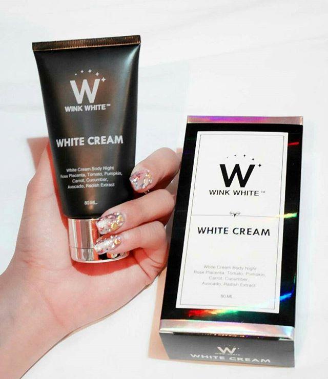 White Cream Body Lotion by Wink White ไวท์ครีม บายวิงค์ไวท์ บำรุงผิวกายเฉพาะก่อนนอน