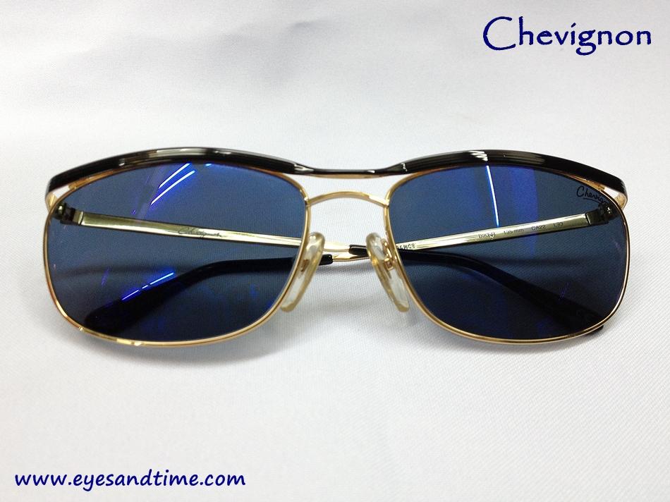 แว่นกันแดด Chevignon เลนส์น้ำเงิน รุ่น Biker CA22 L93