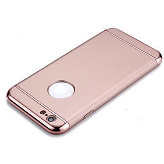 (พร้อมส่ง)เคสมือถือไอโฟน case iphone 6/6S เคสพลาสติกขอบชุบเงาแววหรูหรา