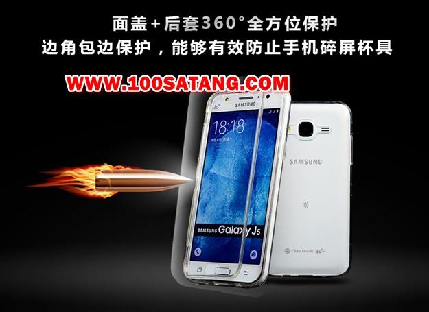 (395-016)เคสมือถือซัมซุง Case Samsung Galaxy J5 เคสนิ่มใสสไตล์ฝาพับรุ่นพิเศษกันกระแทกกันรอยขีดข่วน