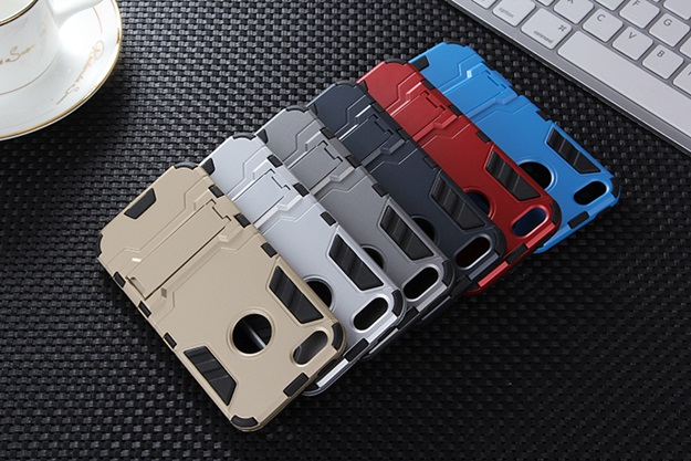 (394-016)เคสมือถือไอโฟน case iphone 5/5s เคสกันกระแทกขอบนิ่ม Drop Ultimate มีขาตั้งในตัว