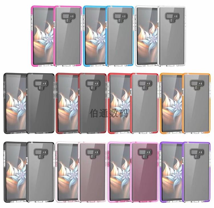 (436-504)เคสโทรศัพท์มือถือซัมซุง Case Note9 เคสนิ่มใสแฟชั่น