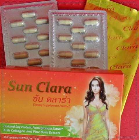 ซันคลาร่า Sun Clara (กล่องส้ม) อาหารเสริมสำหรับคุณผู้หญิง