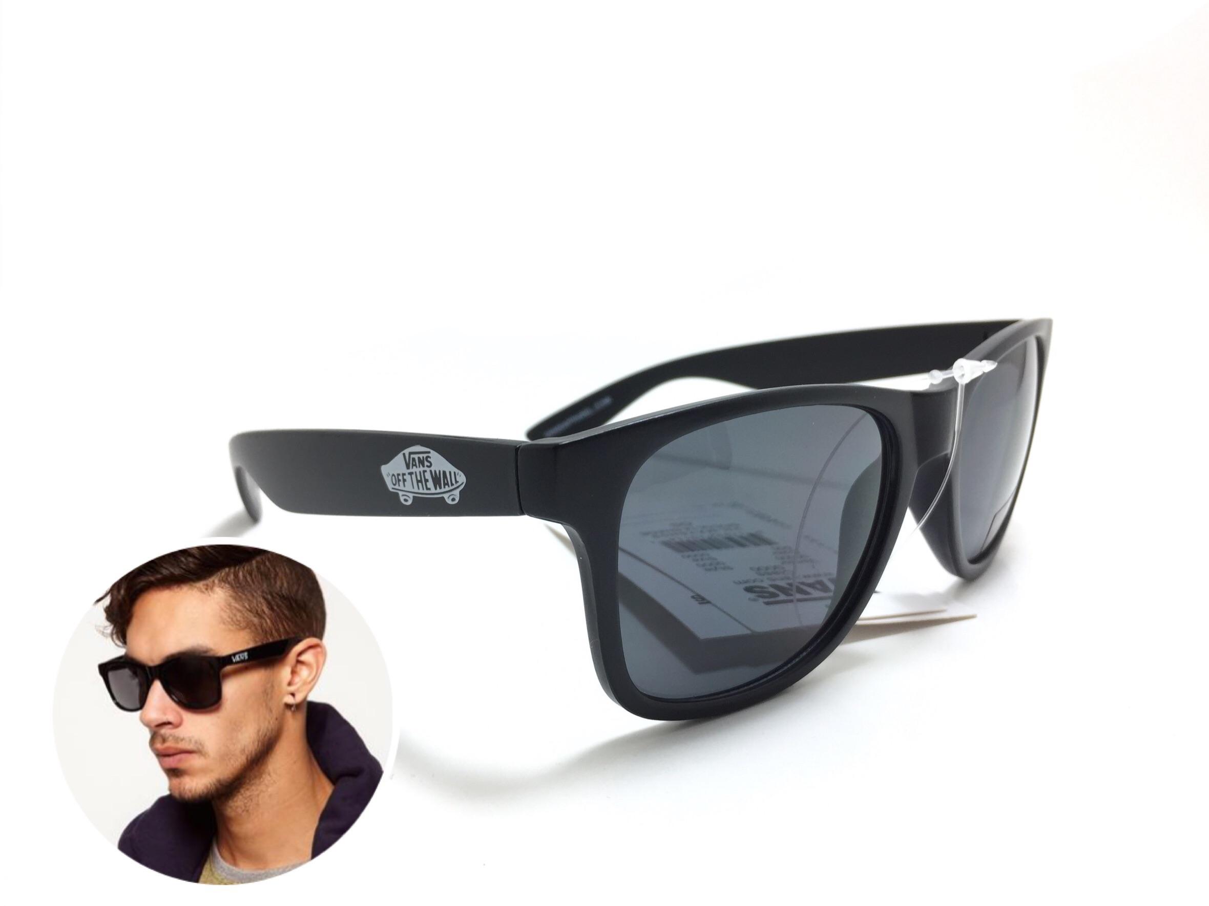 แว่นกันแดด Vans Spicoli 4 Black <ดำด้าน>
