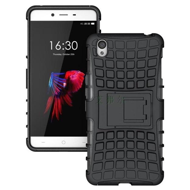 (002-109)เคสมือถือ Case OnePlus X เคสนิ่มกันกระแทกแบบประกบสองชิ้นสุดฮิตขอบสี