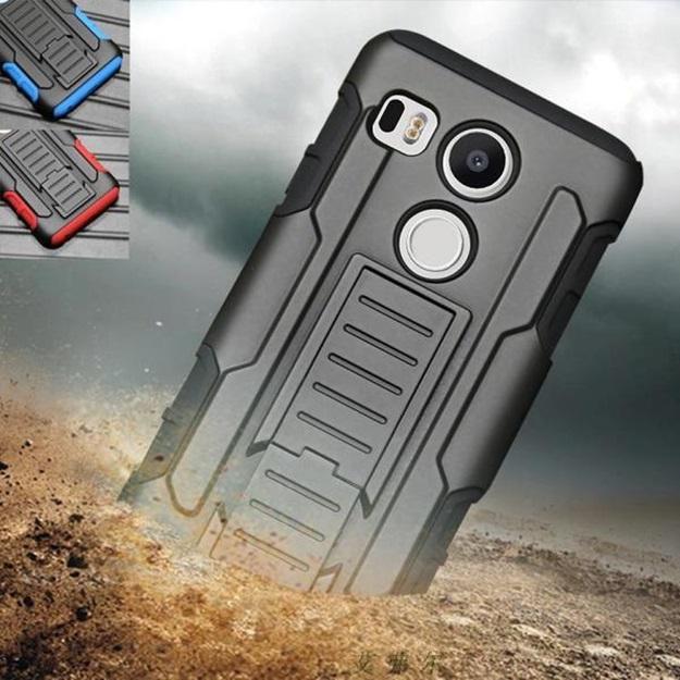 (002-103)เคสมือถือ Case LG Nexus 5X เคสนิ่มพื้นหลังพลาสติกแข็งกันกระแทกสุดฮิตเหน็บเอวได้